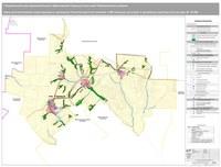 Карта местоположения существующих и строящихся объектов местного значения МО