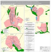 Карта местоположения существующих и строящихся объектов местного значения НП